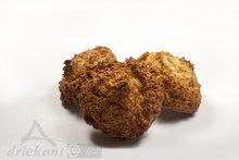 Kokosmakronen, 4 st, Driekant