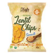 Linzenchips zeezout, 75g, Trafo