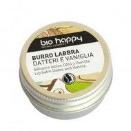 Lip balsem, dadel-vanille, 10ml, Bio Happy