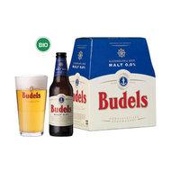 Malt bier, 0pr., 6x30cl, Budels