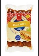Real jumbo knakworst, 275gr, Viana