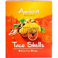 taco schelpen (12st), 150g, Amaizin