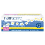 Tampons super, 20st, Natracare